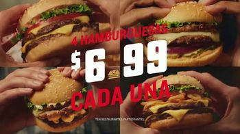 Red Robin Gourmet Burgers TV Spot, 'Pongámonos picantes' [Spanish] - 368 commercial airings