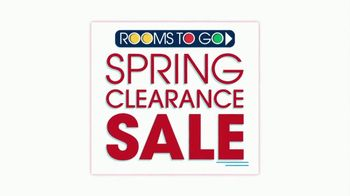 Rooms to Go Spring Clearance Sale TV Spot, 'Ends Tonight' - Thumbnail 2