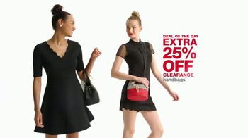 Macy's One Day Sale TV Spot, 'Jewelry and Handbags' - Thumbnail 3