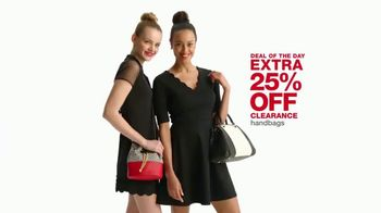 Macy's One Day Sale TV Spot, 'Jewelry and Handbags' - Thumbnail 4