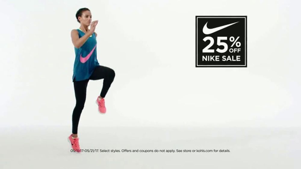 Kohl s Nike Sale TV Commercial ac56e3985