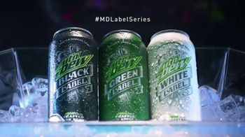 Mountain Dew Label Series TV Spot, 'Boldly Refined' - Thumbnail 8