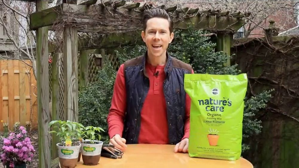 Natures Care Organic Potting Mix For Weed