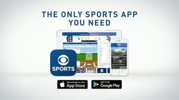 CBS Sports App TV Spot, 'At Your Fingertips' - Thumbnail 6