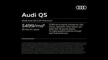 2018 Audi Q5 TV Spot, 'The Interview: Lease' [T2] - Thumbnail 7
