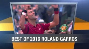 Tennis Channel Plus TV Spot, 'May: 2017 Roland Garros' - Thumbnail 1