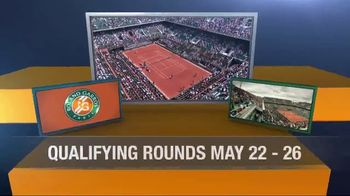 Tennis Channel Plus TV Spot, 'May: 2017 Roland Garros' - Thumbnail 2