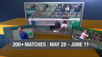 Tennis Channel Plus TV Spot, 'May: 2017 Roland Garros' - Thumbnail 3