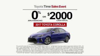 Toyota Time Sales Event TV Spot, 'Get the Corolla You've Been Waiting For' [T2] - Thumbnail 5