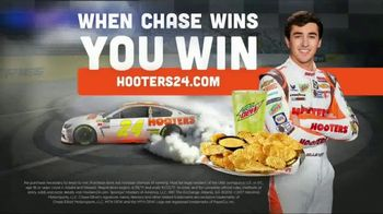 Hooters When Chase Wins You Win TV Spot, 'Race Day' Featuring Chase Elliott - Thumbnail 8