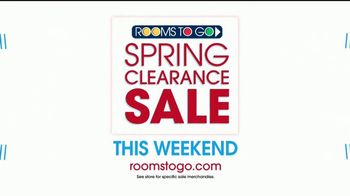 Rooms to Go Spring Clearance Sale TV Spot, 'Once a Season' - Thumbnail 9