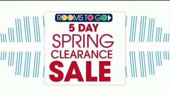 Rooms to Go Spring Clearance Sale TV Spot, 'Once a Season' - Thumbnail 1