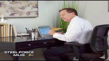 Atomic Beam Steel Force Mug TV Spot, 'Indestructible' - Thumbnail 7