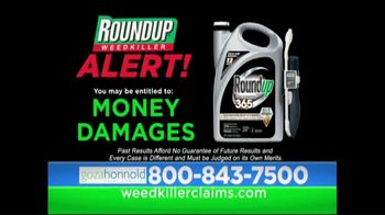 Goza Honnold Trial Lawyers TV Spot, 'Roundup Weed Killer' - Thumbnail 3