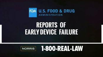 Norris Injury Lawyers TV Spot, 'Knee Replacement Alert' - Thumbnail 3