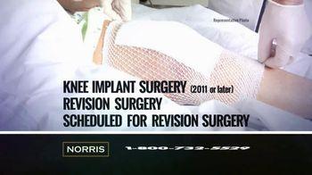Norris Injury Lawyers TV Spot, 'Knee Replacement Alert' - Thumbnail 4