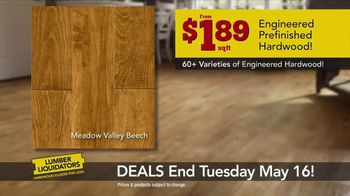 Lumber Liquidators TV Spot, 'Best Sellers on Sale' - Thumbnail 3