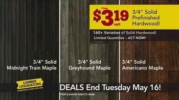 Lumber Liquidators TV Spot, 'Best Sellers on Sale' - Thumbnail 4