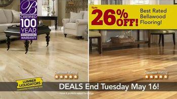Lumber Liquidators TV Spot, 'Best Sellers on Sale' - Thumbnail 5