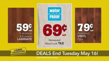 Lumber Liquidators TV Spot, 'Best Sellers on Sale' - Thumbnail 6