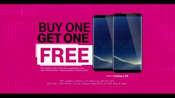 T-Mobile One TV Spot, 'Taxes and Fees: BOGO Samsung Galaxy S8' - Thumbnail 7