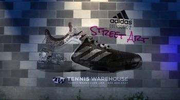 Tennis Warehouse TV Spot, 'adidas Adizero Ubersonic 2 Street Art' - Thumbnail 10