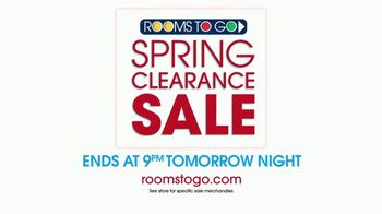 Rooms to Go Spring Clearance Sale TV Spot, 'Last Day to Shop' - Thumbnail 8
