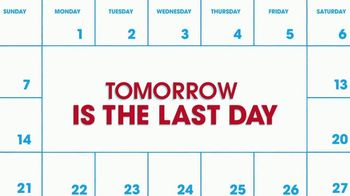 Rooms to Go Spring Clearance Sale TV Spot, 'Last Day to Shop' - Thumbnail 1