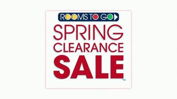 Rooms to Go Spring Clearance Sale TV Spot, 'Last Day to Shop' - Thumbnail 2