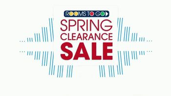 Rooms to Go Spring Clearance Sale TV Spot, 'Last Day to Shop' - Thumbnail 7