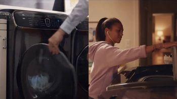 Samsung FlexWash Washing Machine TV Spot, 'Another Day' Song by Lady Gaga - Thumbnail 3