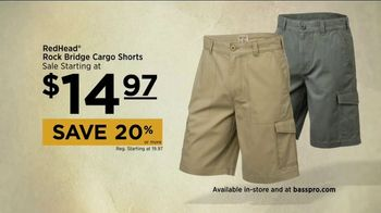 Bass Pro Shops Go Outdoors Event and Sale TV Spot, 'Cargo Shorts' - Thumbnail 5
