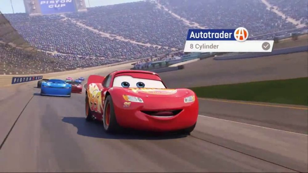 AutoTrader.com TV Commercial, \'Cars 3: Every Car Has a Personality ...