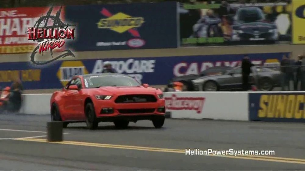 Hellion Power Systems Twin Turbo Kits TV Commercial, 'Ford Mustang Power' -  Video