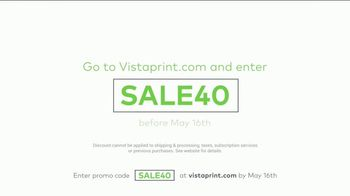 Vistaprint Big Savings TV Spot, 'Try Something New' - Thumbnail 7