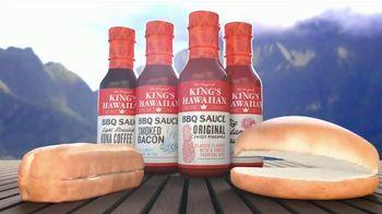 King's Hawaiian BBQ Sauce TV Spot, 'Singing Buns'