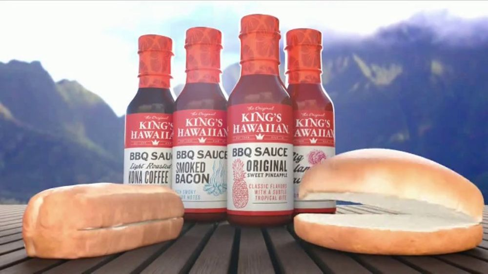 King's Hawaiian BBQ Sauce TV Commercial, 'Singing Buns'