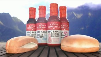 King's Hawaiian BBQ Sauce TV Spot, 'Singing Buns' - Thumbnail 4