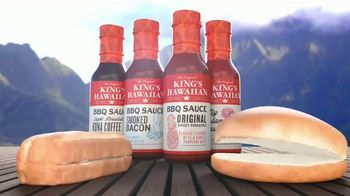 King's Hawaiian BBQ Sauce TV Spot, 'Singing Buns'