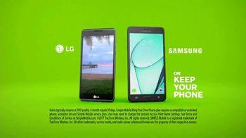 SIMPLE Mobile TV Spot, 'Lightning Cheetah: Unlimited & Latest Smartphones' - Thumbnail 8