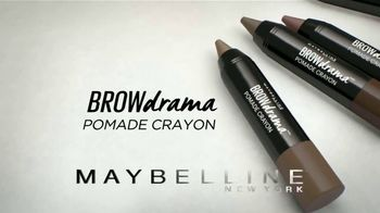 Maybelline New York Brow Drama Pomade Crayon TV Spot, 'Perfectas' [Spanish] - Thumbnail 3