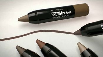 Maybelline New York Brow Drama Pomade Crayon TV Spot, 'Perfectas' [Spanish] - Thumbnail 5