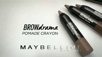 Maybelline New York Brow Drama Pomade Crayon TV Spot, 'Perfectas' [Spanish] - Thumbnail 8