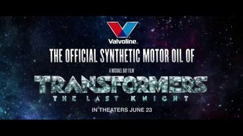 Valvoline TV Spot, 'Transformers: The Last Knight' Ft. Dale Earnhardt, Jr. - Thumbnail 7