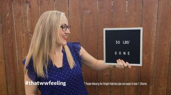 Weight Watchers TV Spot, 'That WW Feeling: One Month Free' - 536 commercial airings