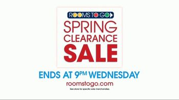 Rooms to Go Spring Clearance Sale TV Spot, 'A Few Days Remain' - Thumbnail 7