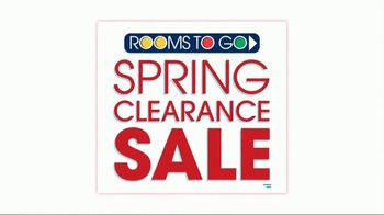 Rooms to Go Spring Clearance Sale TV Spot, 'A Few Days Remain' - Thumbnail 2