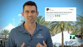 Tennis Warehouse TV Spot, 'Gear Tips: Sock Choice' - Thumbnail 3
