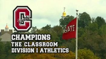 Colgate University TV Spot, 'Champions for Excellence' - Thumbnail 7