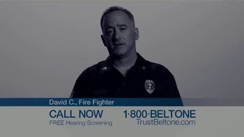 Beltone Trust TV Spot, 'David C., Firefighter and Beltone Trust User' - Thumbnail 1
